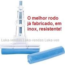 Rodo Mágico Super Inox + Refil + Buchinha Mágica + Garantia.