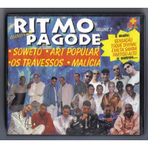 Cd Ritmo Pagode Músical Volume 2 Original