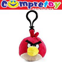 Chaveiro De Pelúcia Angry Birds Toyng; Aplicativo Pássaros