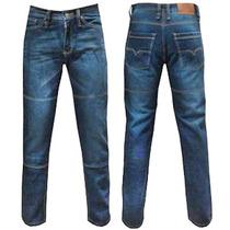 Calça Jeans C Proteção Para Motociclista C/ Kevlar Promoção