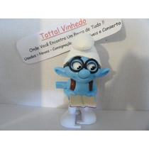 Boneco Smurfs 2 Com Livro A Corda 100 % Funcionando