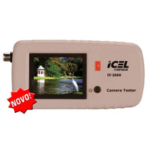 Mini Monitor Para Cftv 2,4 Pol 1vpp Usb Icel Ct-2050