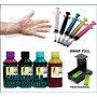 4000ml Kit Tinta Recarga Cartucho Hp 122/662/901/74/75/60/xl