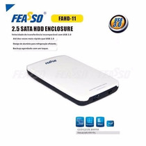 Case Externo Feasso P/hd Sata 2.5 Usb 3.0 Gaveta Hd De Note