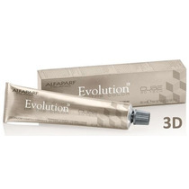 Tinta Evolution Color Of Cube 3d 60ml Da Alfaparf Cor 8.4.