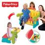 Banco Baú Mesa De Estudo Organizador De Brinquedos Colorido