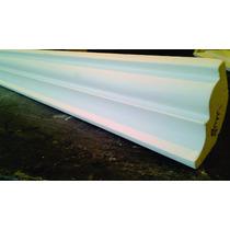 Moldura De Isopor 8cm 3,50 Metro Linear - Substitui O Gesso
