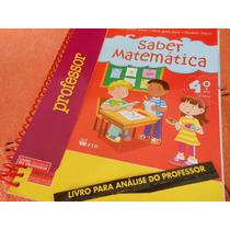 Saber Matemática 4º Ano - Katia Stocco ( Livro Do Professor)
