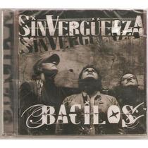 Cd Bacilos - Sin Verguenza ( Lacrado ) Warner 2004