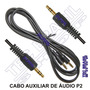 Cabo Auxiliar De Áudio P2 X P2 Conecte Ipod Iphone Mp4 Gps