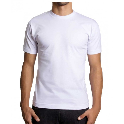 f106f318fa41b 36 Camiseta Básica Lisa Malha 100% Algodão 30.1 Cores Varias