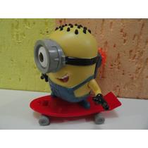 Boneco Minions Com Skate Super Bacana