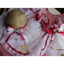 Vestido Festa Junina Adultos.já Enfeitados Luxuosos São João