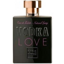 Perfume Vodka Love 100ml Paris Elysees - Nina Presentes