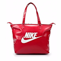 Bolsa Nike Heritage Si Tote Ba4311 Vermelha Feminina