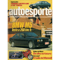 Auto Esporte Nº315 Fiat Tempra Bmw M5 Chevrolet Lumina Apv