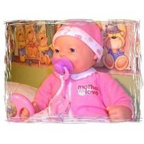 Boneca Bebê Fofucho Em Silicone-chora,ri, Ronca E Dorme