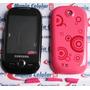 Frete Gratis! Carcaça Samsung Corby S3650 Rosa + Botões