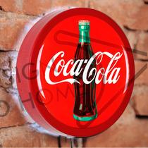 Luminoso / Luminária Parede Bar Com Led - Coca Cola - Mod.04