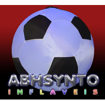 Bola De Futebol - Sputnik Inflável - 200 Cm Diametro