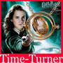 Harry Potter Time Turner Vira Tempo Colar