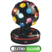 Mini Globo Colorido Giratório Pra Djs, Bola Maluca Giratoria