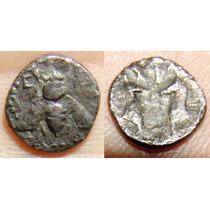 Ionia Ephesos Ar Diobol Moeda Antiga Grega Grecia