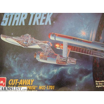 Model Kit - Star Trek - U.s.s. Enterprise 1701 - Psfmonteiro