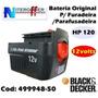 Bateria Original P/furadeir/paraf Hp120 12volts Black&decker