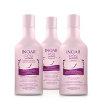 Inoar -kit Pós Progress 250ml (shamp+ Cond+leave-in)