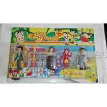 Bonecos Em Miniatura Turma Do Chaves Animados Varios Modelos