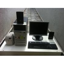 Computador Original Hp C/ Monitor Lcd Lg (aceito Trocas!)