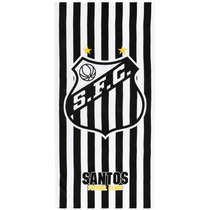 Toalha Praia Santos - 100% Algodão - 1,52m X 76cm - Licencia