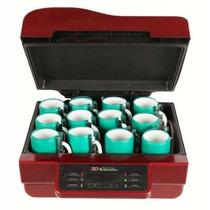 Prensa Térmica 3d Sublimação A Vácuo Kit Completo Impressora