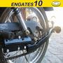 Engate Reboque Moto Honda Cg Todas E Yamaha Ybr
