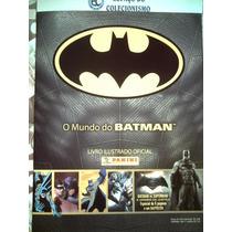 Álbum Figurinhas O Mundo Batman 2016 Completo Para Colar