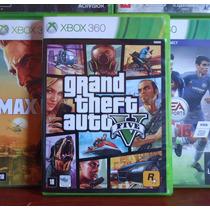 Gta 5 Xbox 360 - Original - Midia Fisica + Mapa