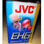 Caixa Lacrada Com 10 Fitas Vhs Jvc- Tc-30, Novas.