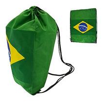 Sacola Bolsa Para Academia Esporte Bandeira Do Brasil