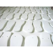 Chinelo Para Sublimação Resinados Kit C/ 20 Frete Gratis C1