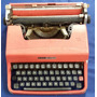 Maquina De Escrever Olivetti Lettera 32 C/ Maleta