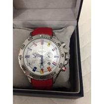 Vendo Relógio Nautica Pulseira Vermelha