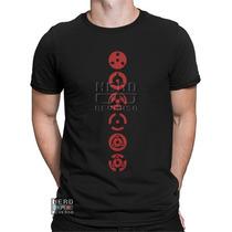 Camisa, Camiseta Naruto Sharingan Rinnegan Mangekyou Animes