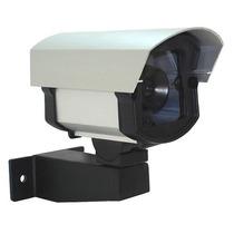 Câmera Falsa De Monitoramento Com Led Vermelho Bivolt.