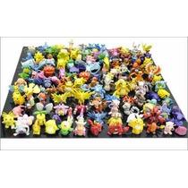 Pokémon 144 Bonecos Miniaturas Pikachu Pokébola