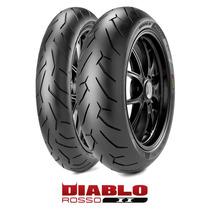 Pneu Pirelli Diablo Rosso 2 140 70 17 Cb300 Comet Ninja
