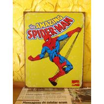 Quadro De Lata - Homem Aranha (retrô )
