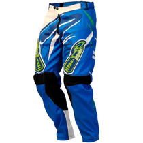Calça Motocross Pro Tork Insane 3 Azul Roupa Para Trilha