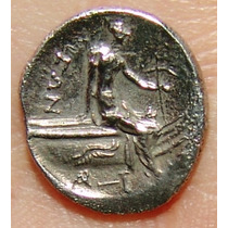 Histiaia, Euboea Tetraobol Moeda Antiga Grega Grecia
