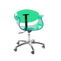 Cadeira Acrílica Tulipa Office - Temos Tulipa Saarinen